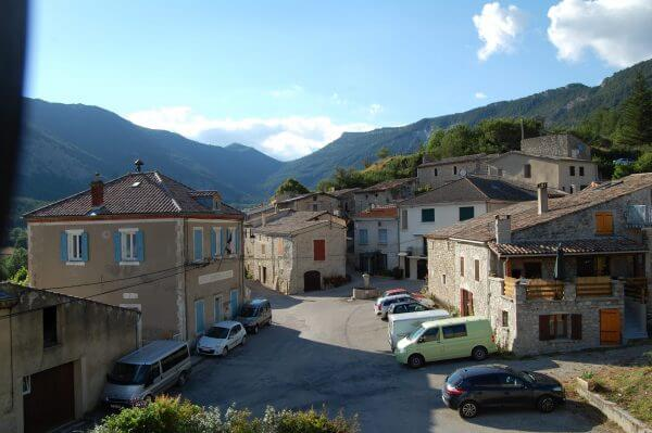 old villages in south of France
